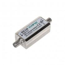 Amplificateur SAT Axing 15-18dB + 2 F connecteurs