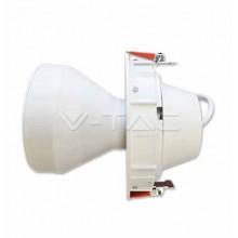 Portalampada da incasso orientabile per lampadina PAR30 E27 W Mod. VT-7114