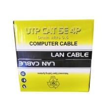 305mt Bobine de câble utp lan cat 5E 4x2 AWG 24 cca PVC iso/iec