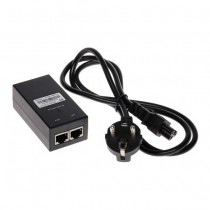 POWER ADAPTER VIA TWISTED-PAIR CABLE 48V DC 24W For IP cameras with POE