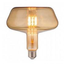 V-TAC VT-2153 Lampada bulbo led 8W filamento E27 xl T180 vetro ambra bianco caldo 2200K - SKU 2790