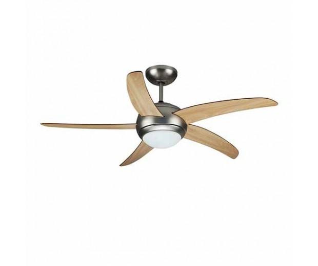 V Tac Vt 6053 5 2xe27 Led Ceiling Fan 60w Light Remote
