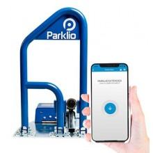 Barriera di parcheggio intelligente autoalimentato ricarica solare gestione smartphone Smart Bluetooth Parklio