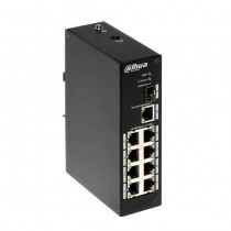 Dahua PFS3110-8P-96 Industrial Switch 8 Ports PoE + 1 Port SFP + 1 Port 1000Mbps DIN Rail
