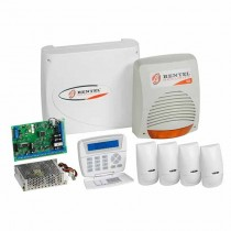 Bentel KITKYO32 expandable 32-zone wired central alarm + accessories