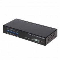 Video Balun 4CH BNC passivo / attivo per cavo UTP 300/1500MT