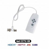 Controller UTC DAHUA Selezione Standard telecamere CCTV 4IN1