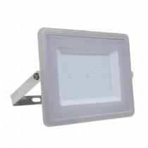 V-TAC PRO VT-100 Projecteur LED 100W slim gris chip samsung SMD blanc froid 6400K  - SKU 474