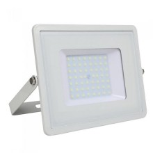 V-TAC PRO VT-56 50W Led Floodlight white slim Chip Samsung smd high lumens day white 4000K - SKU 762