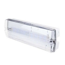 V-TAC VT-524-S 4W LED Bulk Head Emergency Exit Light chip samsung cold white 6000K IP65 - sku 838