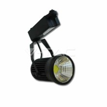 Lampada 30W LED COB RGB Multicolor da binario orientabile