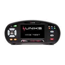 Écran tactile multifonction pour tester et certifier les systèmes électriques Uniks KINGTEST