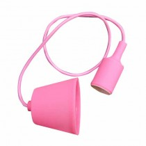 E27 Decoration Pendant Holder 1MT - Mod. VT-7228 SKU 3479 - Pink