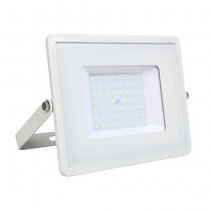 V-TAC PRO VT-50 50W Led Floodlight white slim Chip Samsung SMD cold white 6400K - SKU 411