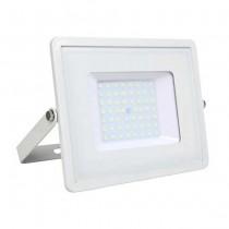 V-TAC PRO VT-50 50W Led Floodlight white slim Chip Samsung SMD cold white 6400K - SKU 411
