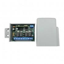 LUTEC RQ4C433 Récepteur radio auto-apprentissage 4CH 433MHz rolling-code / Dip-Switch