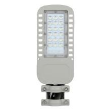 V-TAC PRO VT-34ST Réverbère LED Street light 30W chip samsung blanc froid 6400K aluminium gris IP65 - sku 957