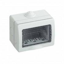 Idrobox 3 modules horizontaux étanche IP55 - Bticino 25503