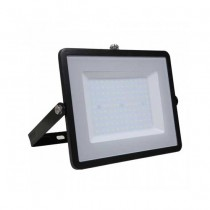 V-TAC PRO VT-100 100W Led Floodlight black slim Chip Samsung SMD cold white 6400K - SKU 414