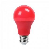 V-TAC VT-2000 Lampadina LED SMD Colorata A60 E27 9W Termoplastico Opaca - SKU 7341 ROSSO