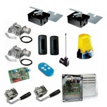 Complete kit for 2 gate underground motor swing gate FROG-AE CAME ENCODER