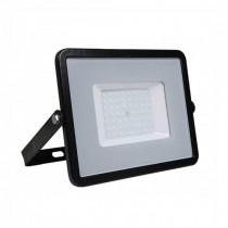 V-TAC PRO VT-50 50W Led Floodlight black slim Chip Samsung SMD warm white 3000K - SKU 406