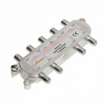 Ripartitore sdoppiatore Splitter TV CAV SAT 15 dB 1 IN 8 OUT Moltiplicatore antenna digitale 5-2300MHz