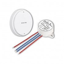 Battery Free Wireless V-TAC One Gang Switch Set White VT-541