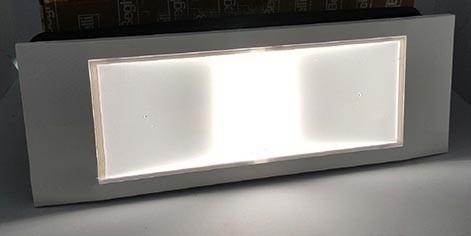 W beghelli l notfall lampe slim new stile in led