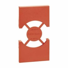 Cover Bticino Living Now for Italian/German standard socket 2 modules red KR03