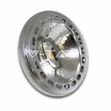 Spot led ar111 15w 12v sharp chip 40° mod. Vt-1110 sku 4257 blanc chaud 3000k