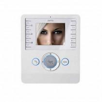 """Videocitofono con display LCD a colori 3,5"""" audio vivavoce Perla PEV BI 62100180"""
