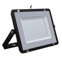 V-TAC PRO VT-206 200W Led Floodlight black slim Chip Samsung smd high lumens cold white 6400K - SKU 779