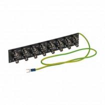 Limitatore di sovratensione video per 8 canali BNC - Scheda PCB protezione fulmini videosorveglianza