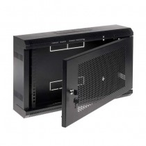 "Armadio Rack pensile Nero RAL9004 19"" 6U 150mm"