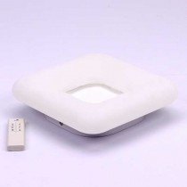 V-TAC VT-7463 40W carré led designer surface changement couleur 3in1 et dimmable avec télécommande - sku 3971