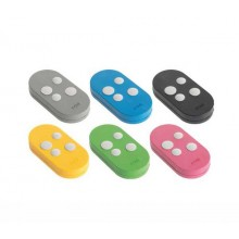 CAME Kit 6 Colored Remote Controls - Double Frequency 433 and 868 MHZ Rolling Code TOPD4RXM