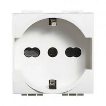 Bticino N4140/16 presa schuko standard tedesco Serie Living Light