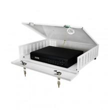 Contenitore box metallico sicurezza per DVR CCTV Tamper AWO483
