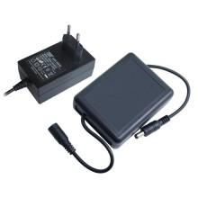 Caricatore UPS mini con regolazione di carica Li-Ion 2200mAh 12V 2A ricaricabile con funzione UPS per TVCC