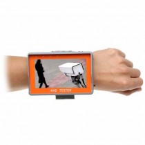 "Wrist monitor 4,3"" Tester CCTV Standard: AHD1080p/720p - 960H"