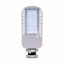 V-TAC PRO VT-54ST Réverbère LED Street light 50W chip samsung blanc neutre 4000K aluminium gris IP65 - sku 958