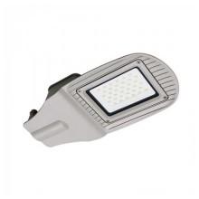 30W LED Street light V-TAC SMD 100° 2400LM Graues Aluminium wasserdicht IP65 VT-15030ST - SKU 5488 Kaltweiß 6400K