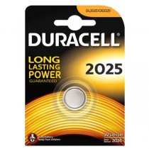 Lithium battery Button DURACELL CR2025 3V - Pack of 1 pcs