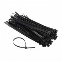 Attache-cable pour câblage 4.2x200mm Noir 100pcs