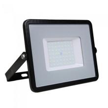 V-TAC PRO VT-56 Projecteur LED 50W slim noir Chip Samsung smd Haute Lumens blanc neutre 4000K  - SKU 760