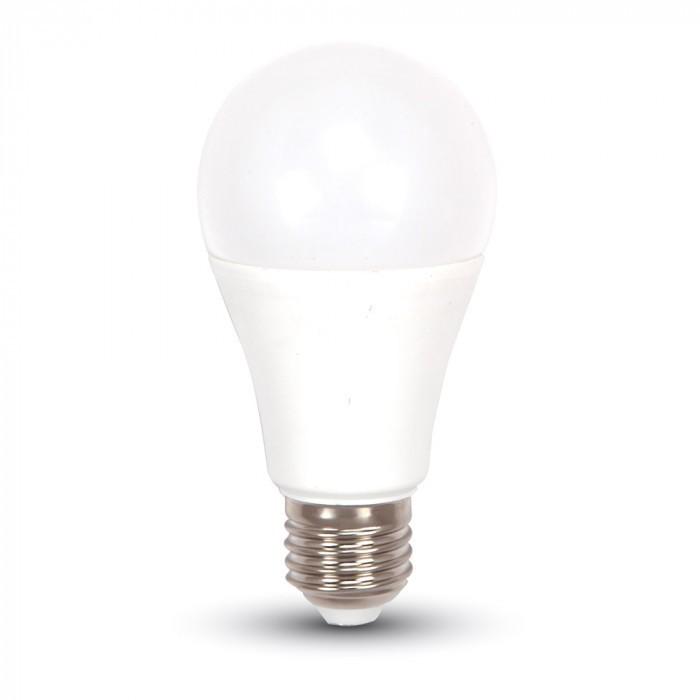 V-TAC VT-2099 LED Bulb 9W E27 A60 Cold White 6400K - SKU 7262