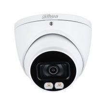 Dahua HAC-HDW1239T-A-LED eyeball Kuppelkamera hdcvi 4in1 hybrid 2Mpx 3.6mm starlight fullcolor audio osd ip67