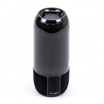 V-TAC SMART HOME VT-7456 Lampada da tavolo LED 6W multifunzione RGB con speaker bluetooth corpo nero - sku 8570