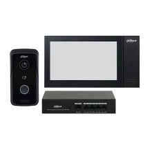 "Dahua DHI-KTP02 Kit Kit IP Villa Outdoor Station & Indoor Monitor 7"" Touch 1Mpx 720p IC player PoE app mobile & cloud IP65"